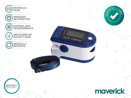 oxímetro saturómetro maverick con curva | correa cms50d
