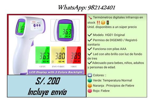 oximetros y termometros