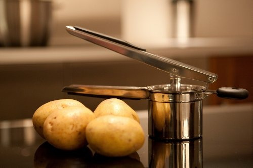 oxo good grips acero inoxidable arrocera de patata