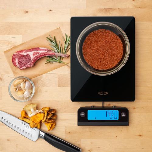 oxo good grips - balanza digital de vidrio para alimentos