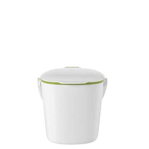 oxo good grips easy clean compost bin, blanca