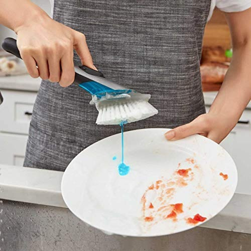 oxo good grips set de cepillo para platos