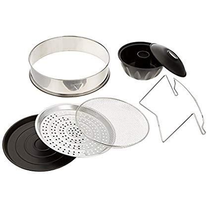 oyama turbo oven accesorio de lujo paquete con anillo extens