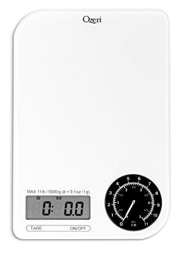 ozeri zk18-wb rev digital da escala da cozinha com electro-m