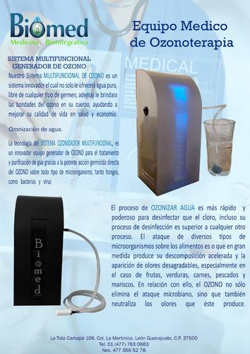ozonificador de agua domestico de alta capacidad.