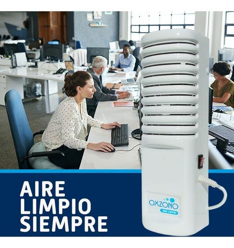 ozonizador purificador de aire portatil 200 m3 - gtia 2 años