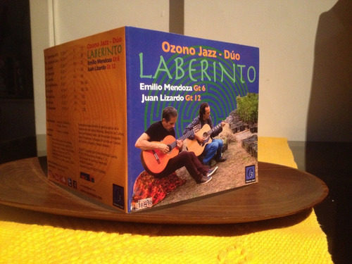 ozono jazz dúo - laberinto (cd) música ecológica venezuela