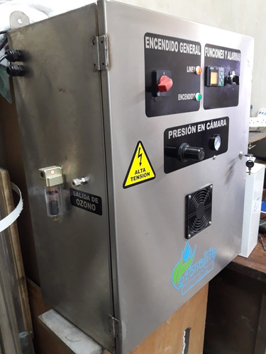 ozono para tratamiento de agua de envasado de agua