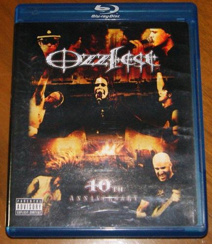 ozzfest 10th anniversary. blu ray original