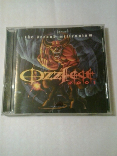 ozzfest 2001 the second millennium epic 2001