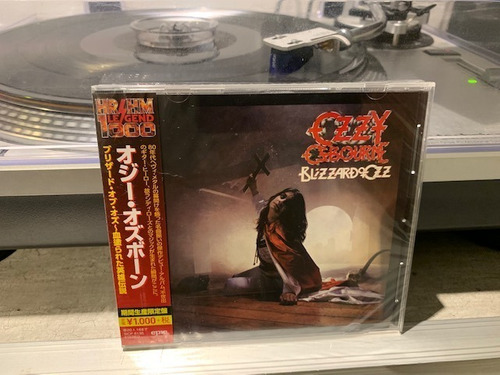 ozzy osbourne - blizzard of ozz  - cd made in japan