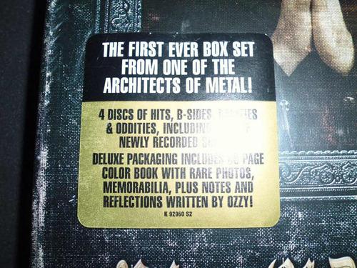 ozzy osbourne / prince of darkness / box set / 4 cd / import