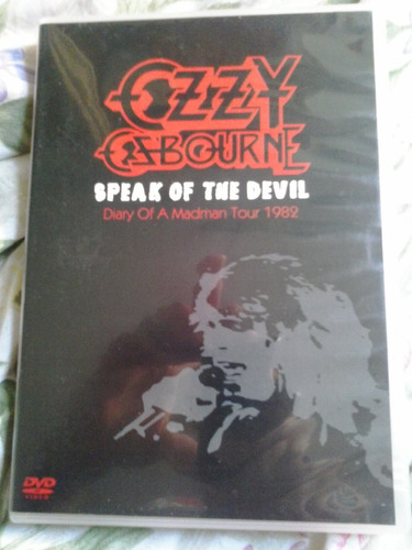 ozzy osbourne speak of the devil dvd