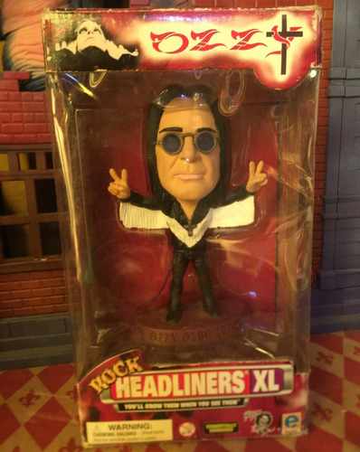 ozzy rock headliners xl black sabbath head knocker
