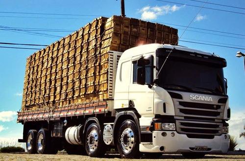 p 310 bitruck  6x2 0km/2018 com carroceria