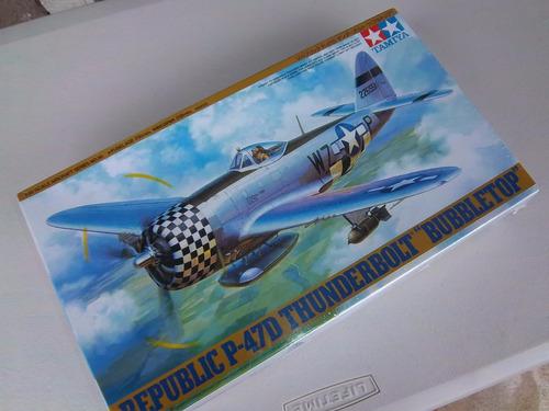 p-47 d  thunderbolt   bubbletop   tamiya