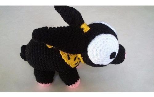p-chan tejido a mano amigurumi crochet