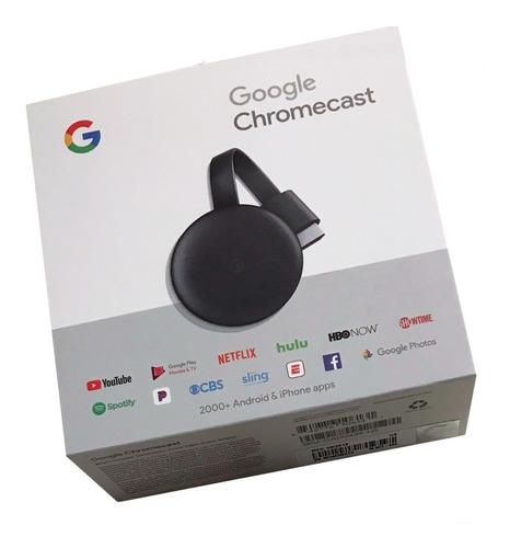 p google chromecast 3 hdmi streaming media player sellado