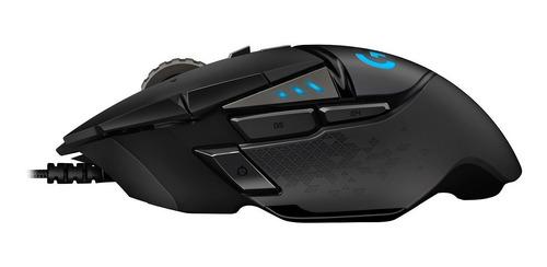 p mouse logitech g502 hero 16000 dpi rgb gaming