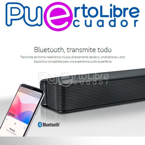 p o t e n t e lg cine casa barra sonido parlante + bluetooth