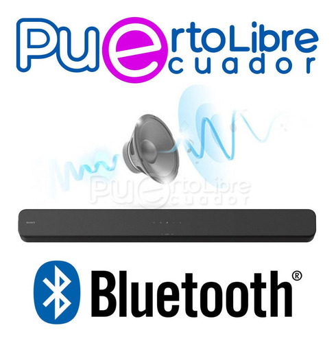 p o t e n t e sony barra sonido parlante bluetooth usb hdmi