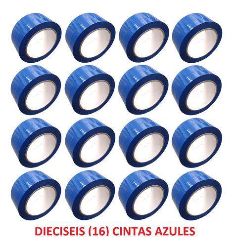 p rollo de cinta de color azul x 16 unidades
