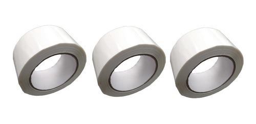 p rollo de cinta de color blanco x 3 unidades