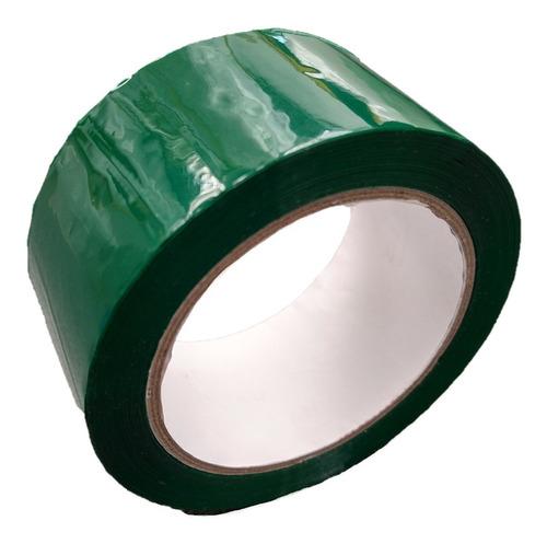 p rollo de cinta de color verde
