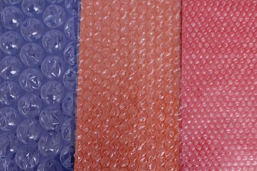 p rollo plástico burbuja de 20cm x 50 metros