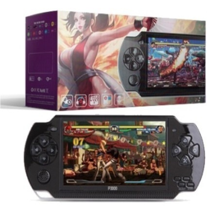 p3000 consola portatil tipo psp mp5 8gb + 184 juegos retro