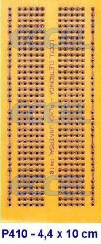 p410 placa universal protoboard embalagem c/ 5 peças