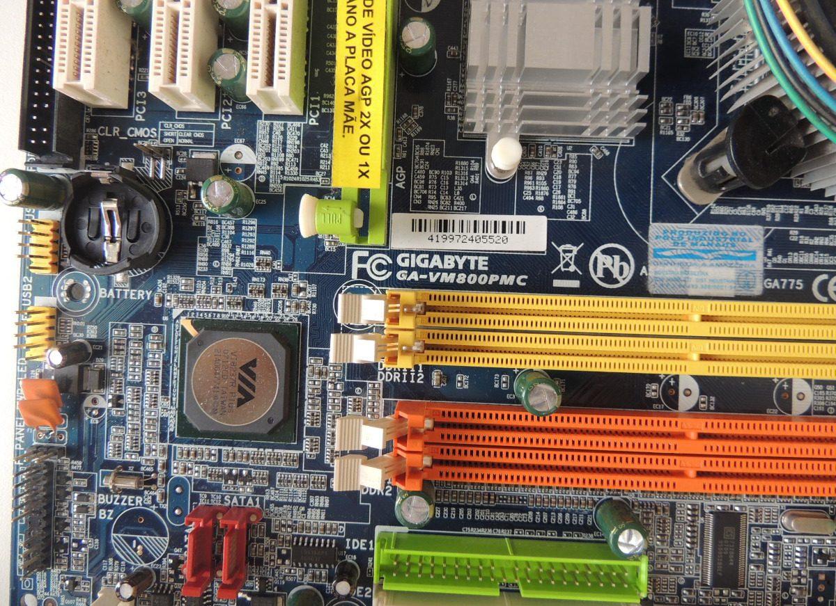 Dica: gigabyte ga-945gzm-s2 liga sem video resolvido youtube.