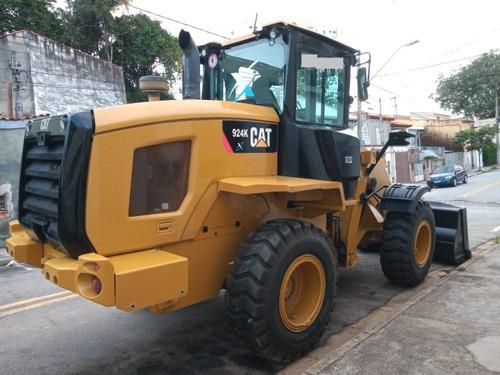 pá- carregadeira- caterpilar- 924-k - ano 2015 c/ 6.200 hrs