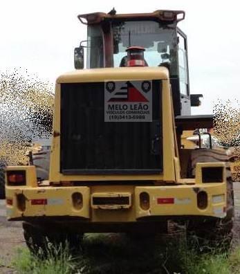 pá carregadeira caterpillar 938h - ano 2011 - cabinada, ar