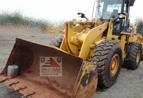 pá carregadeira caterpillar 938h - ano 2012 - cabinada, ar