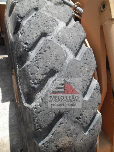 pá carregadeira fiatallis 134 - ano 1978 - fraca de pneus