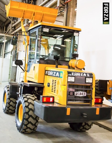 pá carregadeira forza 920, 0,6m3, 1.500kg, troca rápida, ac
