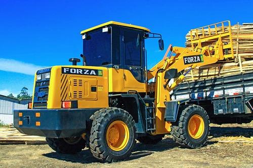 pá carregadeira forza, 928, 1m3, 2.000kg, troca rápida, ac