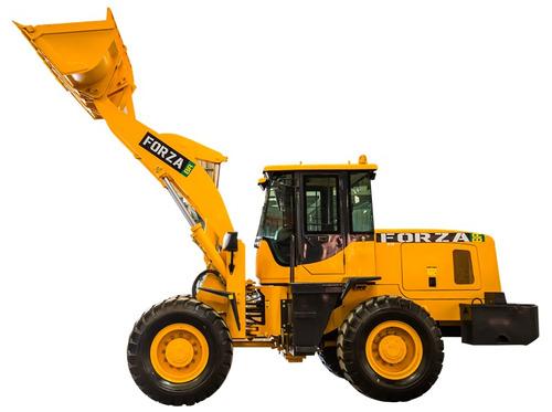 pá carregadeira forza, 936,1.5m3,p/2.500kg, troca rápida, ac