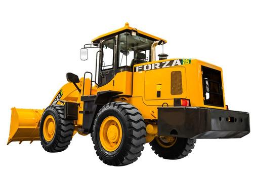 pá carregadeira forza, 958c,1.8m3, 3.000kg, troca rápida, ac