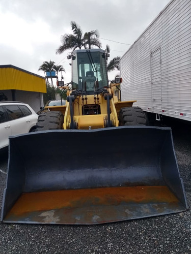 pá carregadeira new holland w160 com 11 mil horas