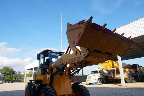 pa carregadeira nova p/ 2 tons - concha 1m3 pronta entrega!
