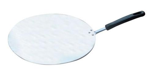 pá de pizza com cabo curto alumínio 35cm diâmetro