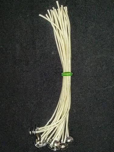 pabilo ecológico de 20 cm terminado bolsa c/20