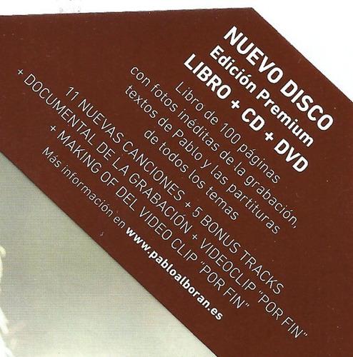 pablo alboran cd+dvd terral original nuevo sellado digipack