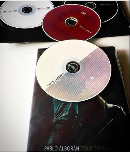 pablo alboran tour terral disponible incluye 2cd's + 1dvd