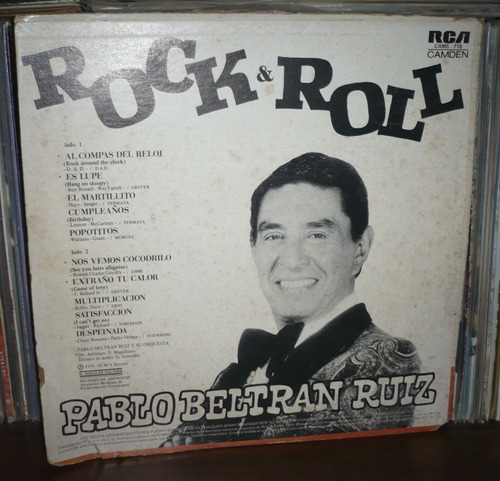 pablo beltran ruiz lp rock & roll