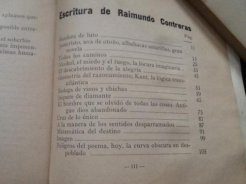 pablo de rokha - escritura de raimundo contreras - 1929.