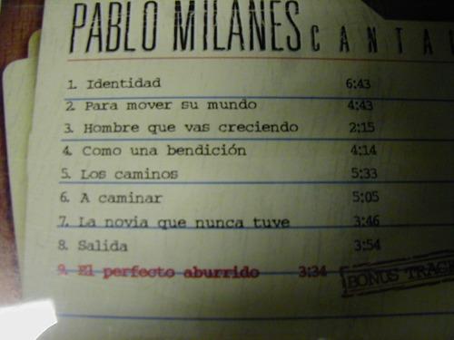 pablo milanes identidad cd seminuevo méxico 1989