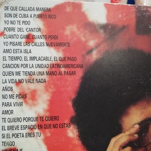 pablo milanés lp vinyl acetato querido pablo